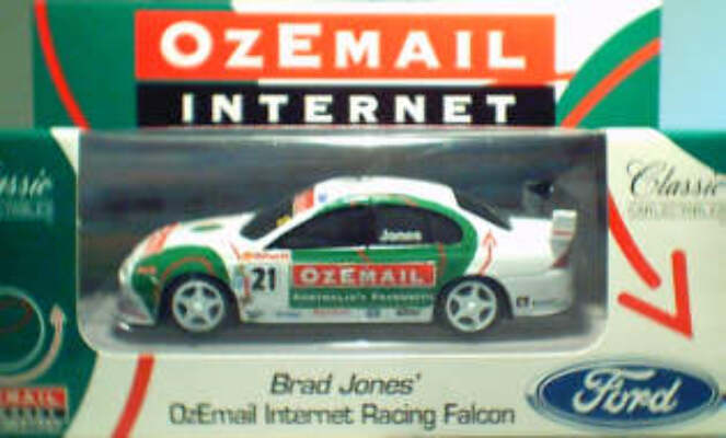 1:43 Classic Carlectables 2021 AU Ford - OzeMail - Jones