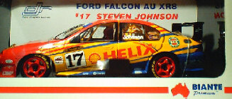 1:18 Biante Falcon AU Steven Johnson #17 Shell Helix 2002