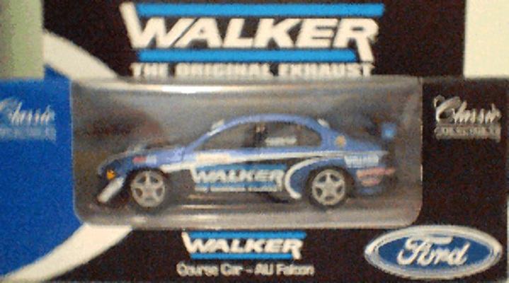 1:43 Classic Carlectables 2000-1 Walker Course Car AU Falcon