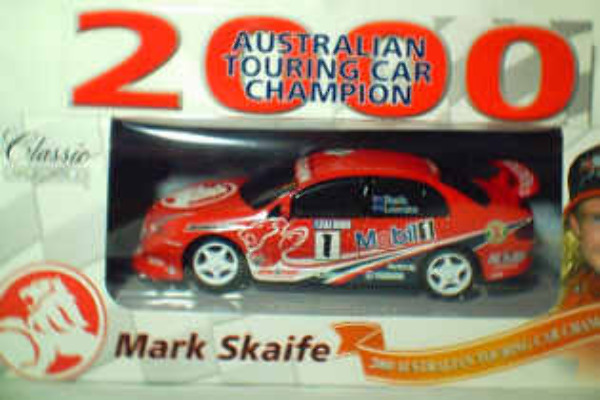 1:43 Classic Carlectables 1001-6 2000 ATTC Skaife/Lowndes