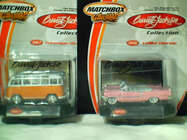 MB Barrett-Jackson set 6 inc VW Bus, Cad Eldorado, Chev Z28, Mustang, Bel Air