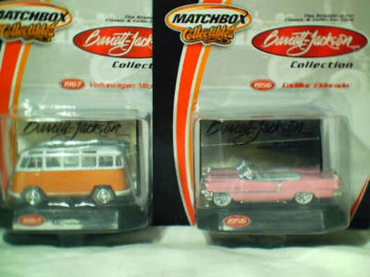 MB Barrett-Jackson set 6 inc VW Bus, Cad Eldorado, Chev Z28, Mustang, Bel Air