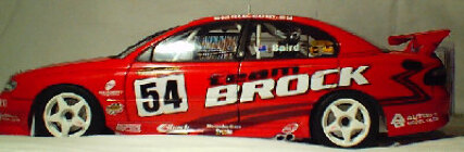 1:18 Biante #54 Team Brock Craig Baird - Red