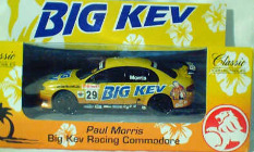 1:43 Classic Carlectables 1029 Paul Morris Big Kev Racing Commodore