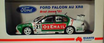 1:43 Biante OzeMail Falcon 2002 Brad Jones