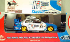 1:43 Classic Carlectables 2043 Paul Weels 2002 KJ Thermal Falcon
