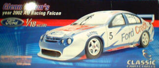 1:18 Classic Carlectable 18027 Glen Seton 2002 AU Falcon (Paint flaws