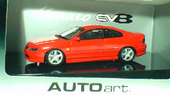 1:43 Biante Holden Monaro V2 Red Hot