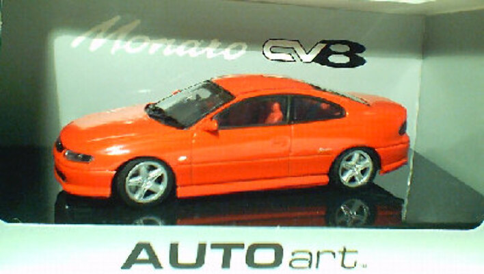 1:43 Biante Holden Monaro V2 Flame Red