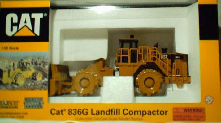 CAT 1:50 836G Landfill Compactor  55074