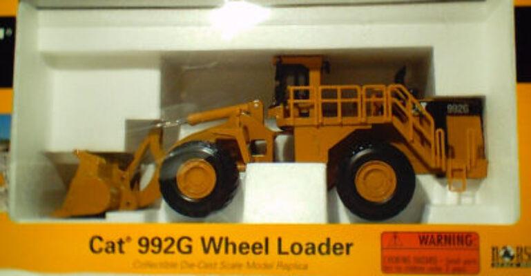 CAT 1:50 992G Wheel Loader
