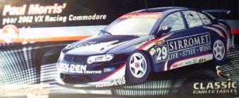 1:18 Classic Carlectable 18034 2002 Paul Morris 2002 Sirromet