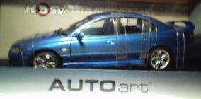 1:18 Biante HSV VX Clubsport R8 Delf Blue 15 Anniv.(