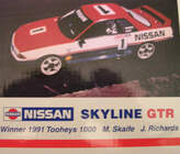1:18 Biante Nissan Skyline R32 Skaife/Richards 1991 bathurst Winner