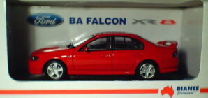 1:43 Biante Ford BA Falcon XR8 Venom Red