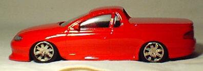1:43 V8 SS Ute - Red