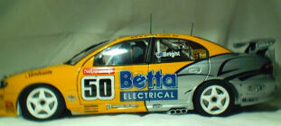 1:18 Biante Team Brock Jason Bright 2003 #50 Commodore (First Win)