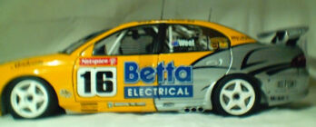 1:18 Biante Team Brock Paul Weel 2003 #16 Commodore