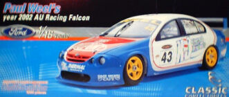 1:18 Classic Carlectable 18043 Paul Weel 2002 KJ Thermal Falcon