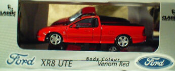 43552 Ford XR8 Ute - Venom Red