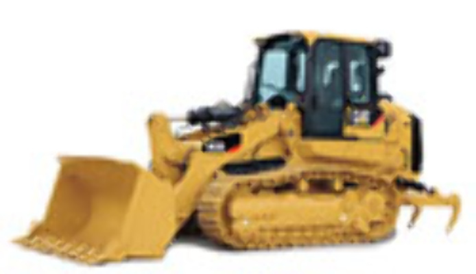 CAT 1:50 963D Track Loader with Metal Tracks