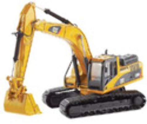 CAT 1:50 330D L Excavator 55199