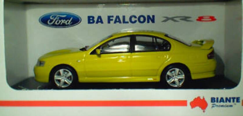 1:43 Biante Ford BA Falcon XR8 Citric Acid