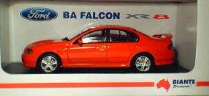 1:43 Biante Ford BA Falcon XR8 Blood Orange