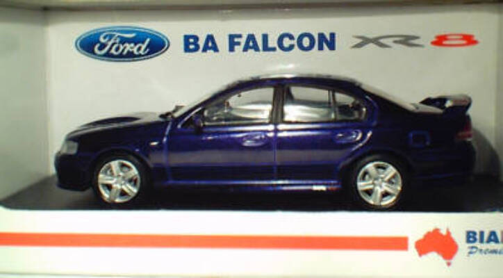 1:43 Biante Ford BA Falcon XR8 Phantom
