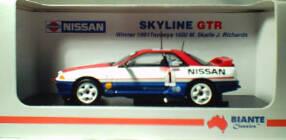 1:43 Biante Nissan Skyline Richards/Skaife 1991
