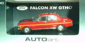 1:43 Biante Falcon XW GTHO Candy Apple Red
