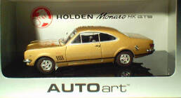1:43 Biante Holden Monaro HK GTS350 Inca Gold