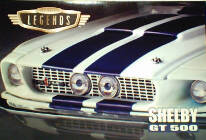 HW Shelby Mustang GT500 1:24 & 1:64