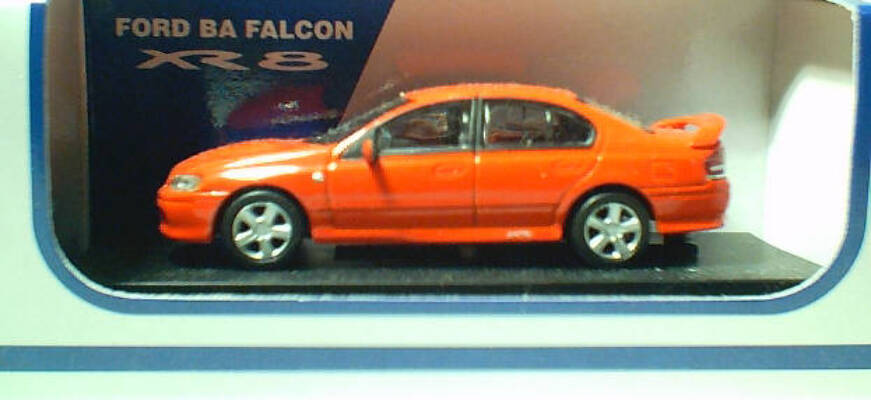 1:64 Biante Ford BA XR8 Sedan Blood Orange