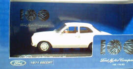 1:43 1971 Ford Escort White