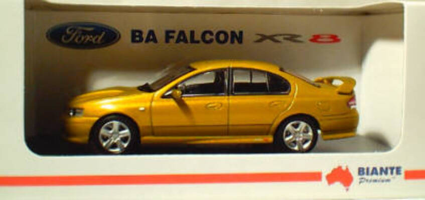 1:43 Biante Ford BA Falcon XR8 Acid Rush