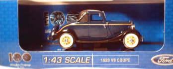 1:43 1933 V8 Coupe - Washington Blue