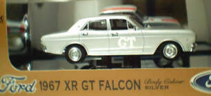 43565 1967 XR GT Falcon Silver Promo Car