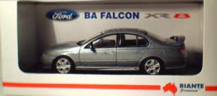 1:43 Biante Ford BA XR8 Mercury Silver
