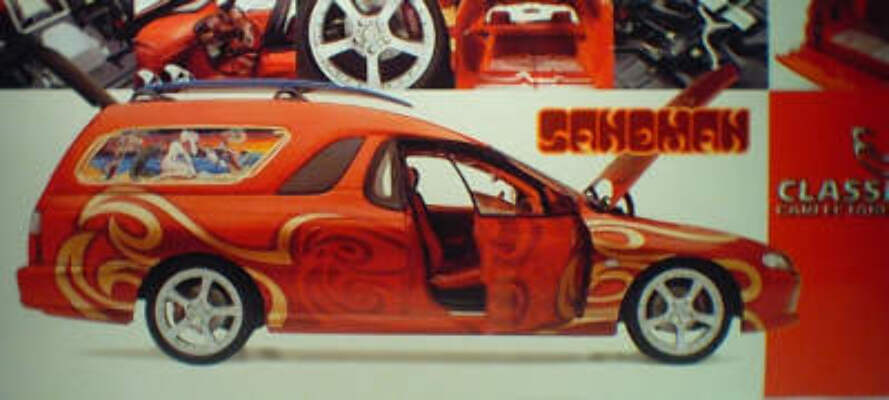 1:18 Classic Carlectable 18051 Sandman Concept panel van