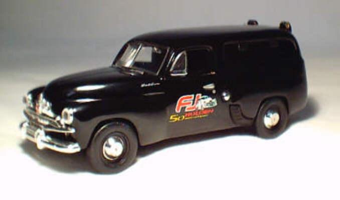 43519 Holden FJ Panel Van Black