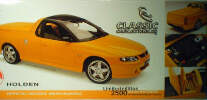 1:18 18050 Holden Utester Yellow