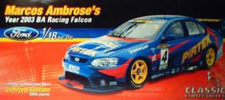 1:18 Classic Carlectable 18104 2003 Ambrose Pirtek Falcon