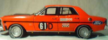 1:18 Biante XW GTHO 1969 Bathurst - Moffat / Hamilton 61D