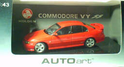 1:43 Biante Holden Commodore VY SS Red