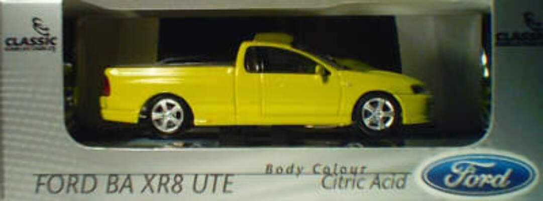 43590 Ford BA CR8 Ute - Citric Acid
