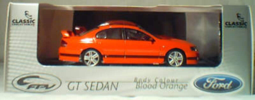 43592 2003 Ford FPV GT Sedan - Blood Orange