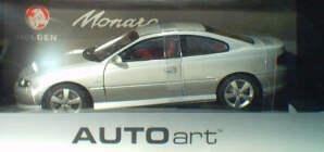 1:18 Biante Holden V2 Monaro CV8 Series 2 Quick Silver