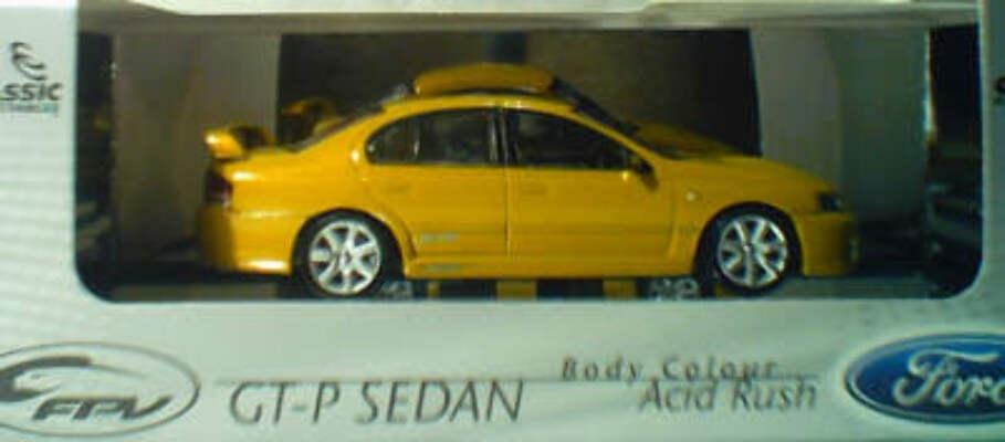 43558 2003 Ford FPV GT Sedan Acid Rush