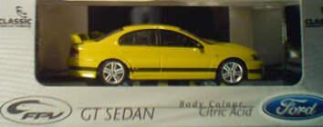 43593 2003 Ford FPV GT Sedan Citric Acid